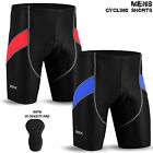 Mens Cycling Shorts Lycra Tights MTB Cycle Bicycle Anti-Bac Padded Black S to XL
