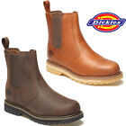MENS DICKIES TRINITY NON SAFETY ANKLE WORK SLIP ON CHELSEA DEALER BOOTS SHOES