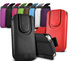 PROTECTIVE PHONE COVER POUCH WITH MAGNETIC FLAP AND PULL TAB FOR SAMSUNG MOBILES
