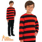 Childrens Red and Black Stripe Shirt Dennis the Menace Book Week Fancy Dress