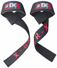 BEX GEL PADDED GYM STRAPS HAND BAR WEIGHT LIFTING TRAINING WRIST SUPPORT GLOVES