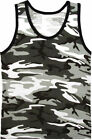 Rothco Mens Camouflage Tactical Military Top Army Camo Tank Top Muscle Shirt