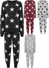 New Womens Star Print Sweatshirt Joggers Tracksuit Set Ladies Jogging Suit 8-14