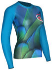 BEX RASH GUARD SUBLIMATED-FITNESS WOMEN WEAR-YOGA LONG SLEEVE COMPRESSION SHIRT