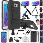 EEEKit Allin1 for Samsung Galaxy Note 5 Rugged Hybrid TPU Cover Case+Accessories