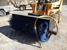 "72"" HEAVY DUTY  SKIDSTEER BROOM  SWEEPER ATTACHMENT MADE IN USA"