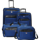American Tourister Brookfield 4pc Set 2 Colors Luggage Set NEW