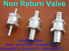 Stainless Steel Fuel Non Return Check Valve One Way Petrol Diesel Oil Water Hose