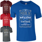 Made in 1979 T-Shirt Born 37th Year Birthday Age Present Vintage Funny Mens Gift