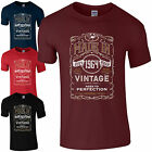 Made in 1964 T-Shirt Born 53rd Year Birthday Age Present Vintage Funny Mens Gift
