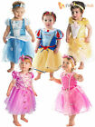 Baby Toddler Deluxe Disney Princess Costume Girl Fairytale Fancy Dress Up Outfit