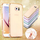 Luxury Ultra Thin Crystal Diamond Bling TPU Phone Case Cover For Samsung Galaxy