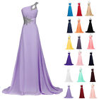 PLUS SIZE Long Maxi Bridesmaid Formal Ballgown Party Cocktail Evening Prom Dress