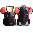Kids Motorcycle Racing Guard Armor Jacket Chest Back Body Protective Gear S/M/L