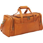 Le Donne Leather Hayden Duffle 3 Colors All Purpose Duffel NEW