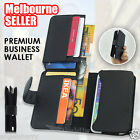 NEW Multi Leather Business Pouch Wallet Case Cover For Samsung Galaxy S7