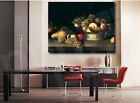 Fruit Basket by James Peale Repro 1822 Canvas Print Kitchen Home Wall Decor
