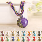 STON New Bohemian Vintage Women Pendant Rhinestone Necklace Chain Jewelry Gift