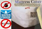 Royal Silk™ Heavy Vinyl Zippered Mattress Cover 100% Waterproof & Bed-Bug Proof