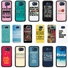 Sayings Quotes Case Cover for Samsung S3 S4 S5 S6 - 32