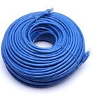 Cat6 Patch Cord Cable 500mhz Ethernet Internet Network LAN RJ45 UTP Blue Us New