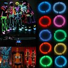 2/3/5M LED Flexible Neon Light Glow EL Wire String Strip Rope Tube Car DIY Lamp
