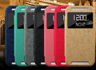 Oracle characters luxury kickstand pu leather case cover Skin for HTC ONE 2 M8/s
