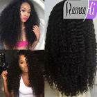 Heavy Density 160% Brazilian Kinky Curl Real Remy Human Hair Front/Full Lace Wig