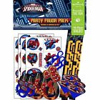 Marvel Ultimate SpiderMan Kid Hero Party Favor Pack Kit, 6 d