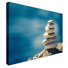 Zen-Like Tranquil Pebbles Canvas Wall Art prints high quality