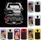 Shockproof Dirtproof Aluminum Gorilla Glass Case Cover For Galaxy Note 4 & S6