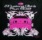 Mustang Girls Run Wild Shirt, Ford - Official Licensed, car, ladies, Small - 5X,