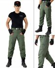 Outdoor tactical trousers Men Climbing pants cotton Wear resistant army trousers