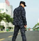 Coat + pants Mens camouflage suit Wear-resistant special Training clothes M-3XL