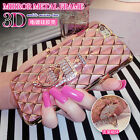 3D Grid Bling Diamond Soft Gel Ring Holder Stand Case Cover for iPhone 6/6S Plus