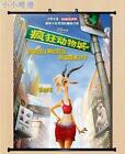 Anime Movie Zootopia Home Decor Wall Scroll Poster 40*55CM & 60*80CM Z224