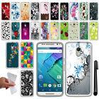 For Motorola Moto X Style XT1575 3rd Gen TPU SILICONE Protective Case Cover +Pen