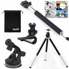 EEEKit Monopod+Car Sun Visor/Suction Mount  Accessories for Action Sports Camera