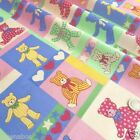 "per 1/2 metre/fat quarter 100 % cotton Teddy Bears picnic fabric  60 "" wide"