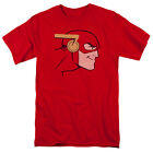 JUSTICE LEAGUE FLASH COOKE HEAD Licensed Men's Graphic Tee Shirt SM-5XL