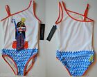 NWT Little Marc Jacobs Miss Marc Graphic Print Bathing Swimsuit Size 12