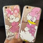 Cartoon label cute minnie daisy soft clear Case cover for iphone 6 6S plus 5Se