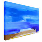 Abstract Landscape Blue Canvas Wall Art prints high quality