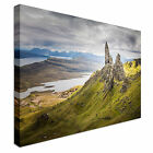 The Old Man of Storr Scotland Canvas Wall Art prints high quality