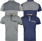 Mens Threadbare Fashion Polo Shirt Short Sleeve Casual Cotton Summer
