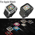 Aluminium Case & Silicone Strap Band for Apple Watch 38mm/42mm