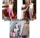 Avon Pyjama Bottoms ~ Choose Your Size & Pattern ~ Snowflake, Polar Bear or Nord