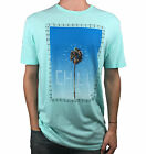 VOLCOM. Mens Short Sleeve Logo T-Shirt. Green / Blue Chill. Size: L, XL.