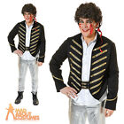 Adult Adam Ant 1980's New Romantic Mens Fancy Dress Costume Pop Star Outfit New