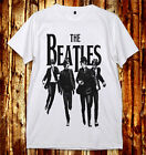 The Beatles In Town Fab Four John Lennon Paul McCartney U&V-Neck 2Color T-Shirt